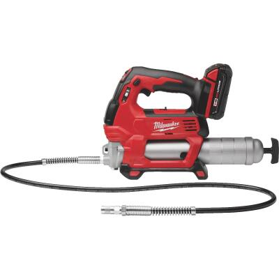 Milwaukee M18 18-Volt Lithium-Ion 2-Speed Cordless Grease Gun Kit